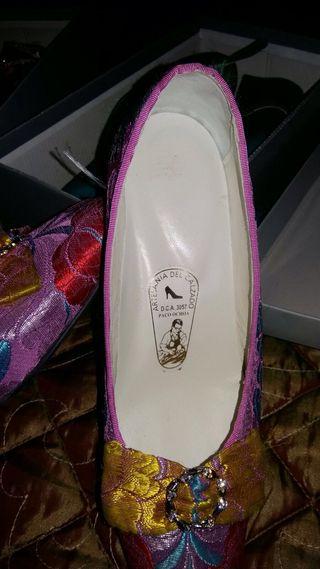 Zapatos Fallera 36