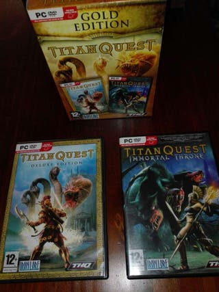 Juego pc titan quest gold edition