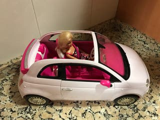 Barbie y coche
