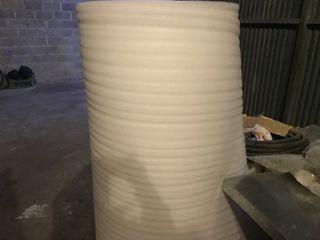 Rollo bobina poliestireno poliuretano aislante obr
