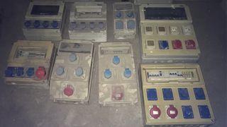 Lote cuadros electricos cajas 220/380 obras luz