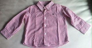 Camisa De benetton Talla 12-18 Meses