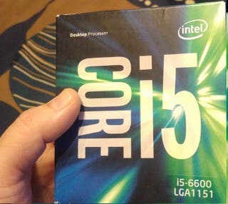 Procesador Intel Core I5 6600