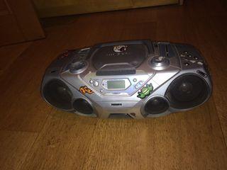 Radiocasette, cd, mp3