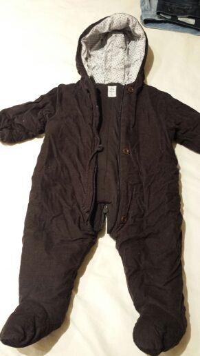 Pack de 2 monos de bebé talla 6 meses