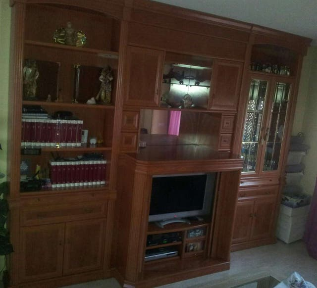 Mueble de salon Boiserie de 3,25 largo x 2,56 alto