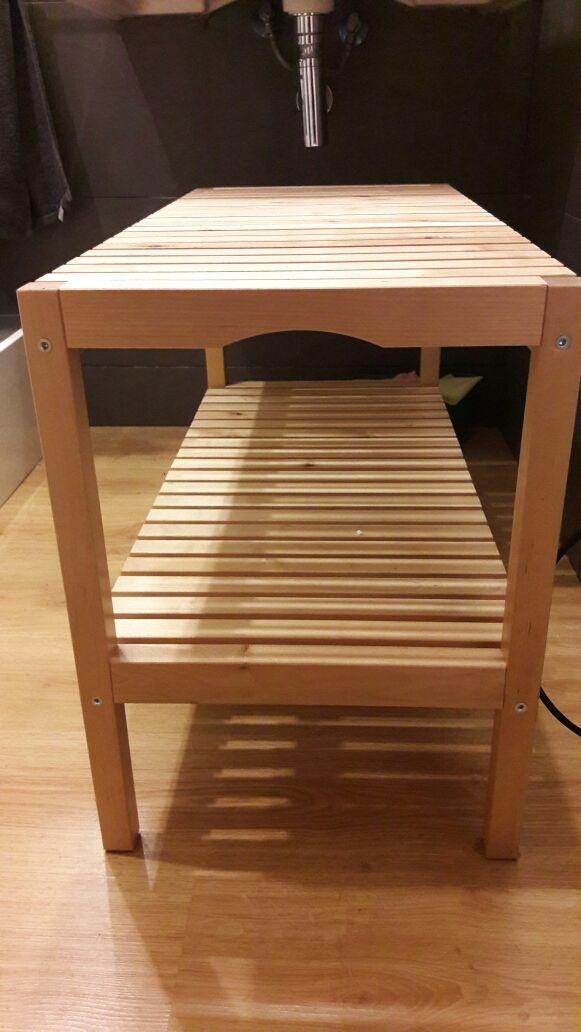 Banco madera molger IKEA