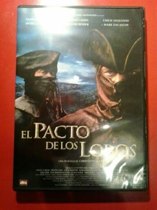 """PELÍCULA DVD """"PACTO CON LOBOS"""""""