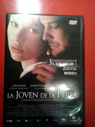 "PELÍCULA DVD ""LA JOVEN DE LA PERLA"""