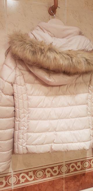 Cazadora zara, plumas abrigo.