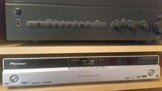 Pioneer Reproductor CD, DVD y grabador DVR-545HX