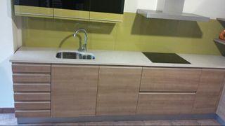 Mueble cocina + electrodomésticos + encimera