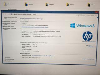 PC-Ordenador con pantalla Led. HP