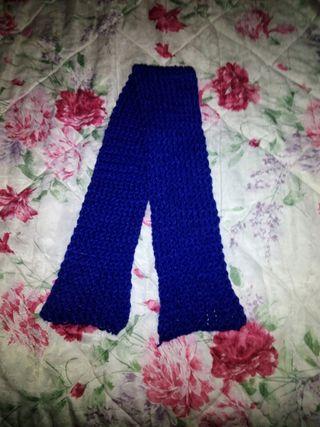 Bufanda hecha a mano