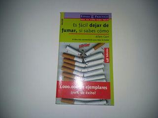 Libro Dejar de fumar es facil, si sabes como.