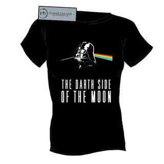Camiseta - The Darth Side Of The Moon - Pink Floyd - Chico