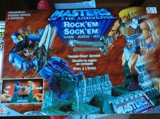 Master Del Universo Rock'em Sock'em Mattel 2002