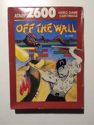 Juego Atari Off the Wall COMPLETO Perfecto