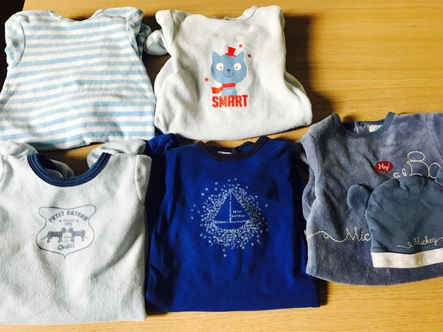 Lote pijamas niño 1-3 meses