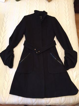 Abrigo mujer blanco