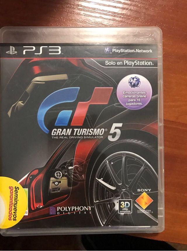 Juego ps3 GRAN TURISMO 5