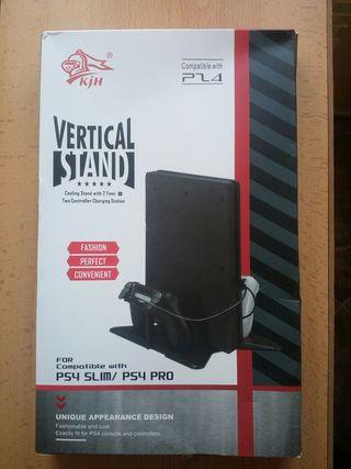 Base vertical para consolas PS4 Slim o Pro