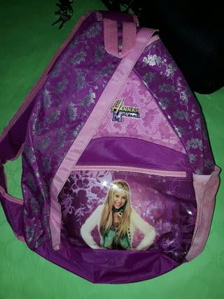 Mochila bandolera Hannah Montana