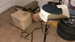 vendo maquina antigua de ensacar patatas