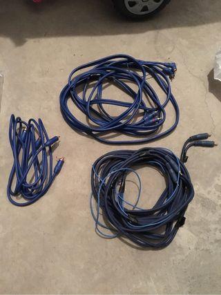 Cables RCA amplificador