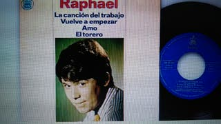 Disco vinilo. Raphael
