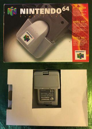 Rumble Pak N64 Completo!!