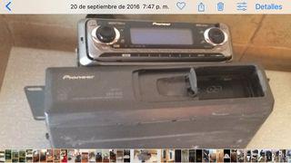 Radio CD coche,proneer con cargado de 10 CD