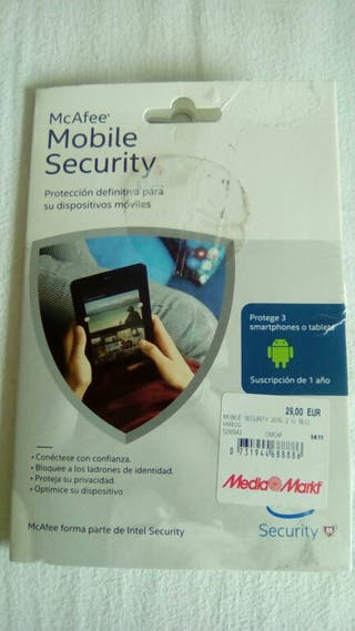 mobile security 2016 sin usar