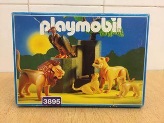 FAMILIA DE LEONES DE PLAYMOBIL
