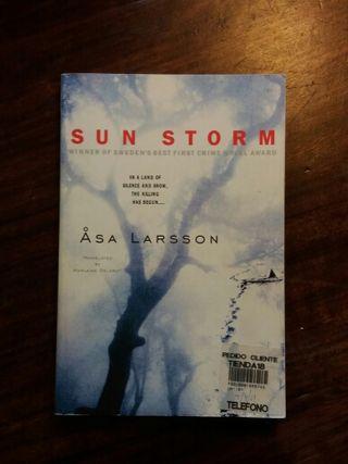 Libro, Sun Storm de Asa Larsson