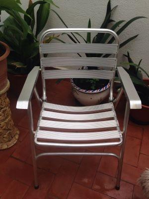 sillas aluminio plegables