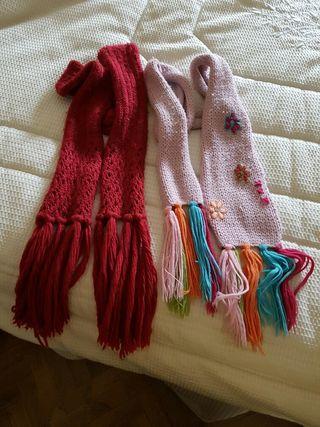 Bufandas de niña