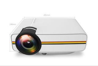 "Proyector Led 1200 lumen - HD - HDMI-USB-120"""