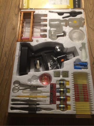 Microscopio juguete YKS 100x900