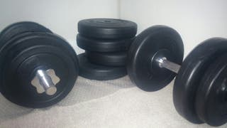 New Dumbell weights 40KG - Price negotiable