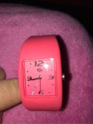 Reloj rosa