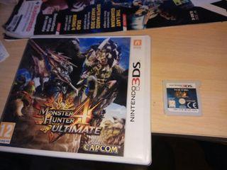 Monster Hunter 4 Ultímate 3DS