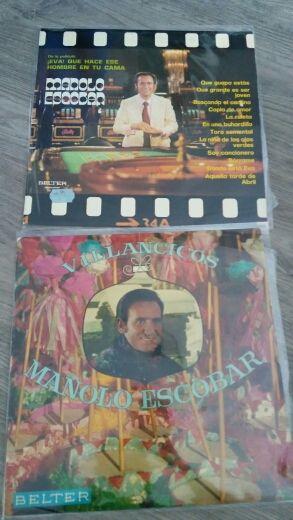 Discos vinilo de Manolo Escobar