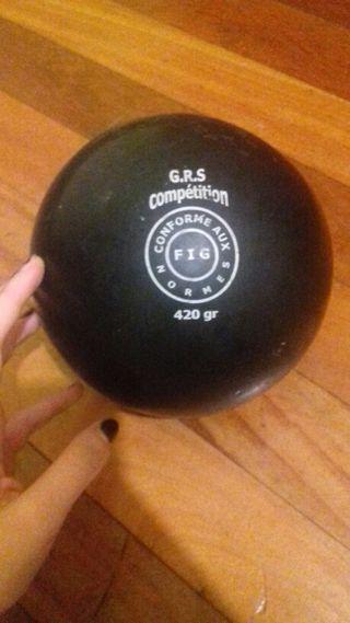 pelota gimnasia ritmica