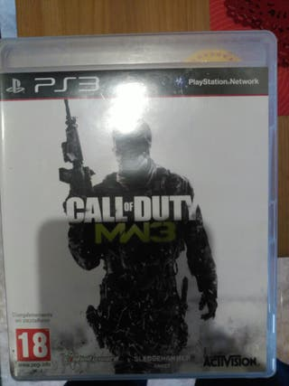 call of duty modern warfare 3 play station 3