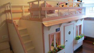 dormitorio casita cama