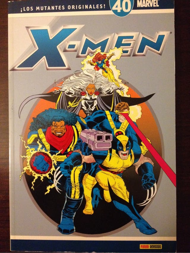 Tomo X-men ¡los mutantes originales! 40 Panini