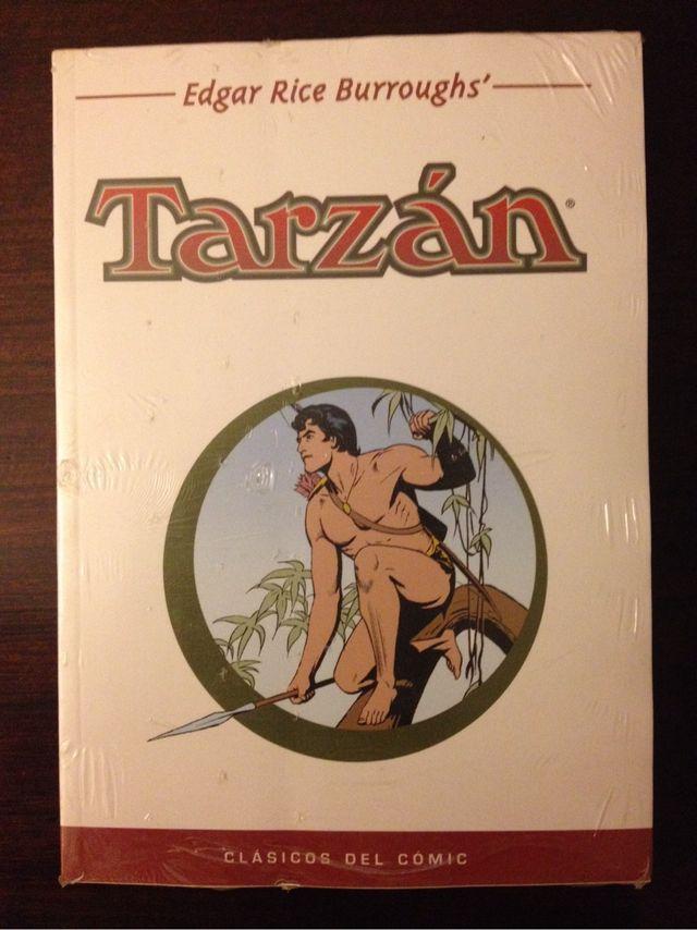 Tarzán Clasícos del Comic NUEVO PRECINTADO