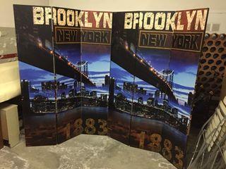 Biombo Plegable New York