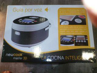 NUEVO Robot de cocina newcook master 3D nueva.